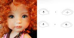 Очень часто так случается, что смотришь на куклу, а она тебя не видит, смотрит как бы сквозь, взгляд ее направлен куда-то в пустое пространство, в далекую в бесконечность. Слишком симметрично нарисованные глаза дают ощущение параллельного отсутствующего взгляда. Мой любимый автор, прекрасный мастер коллекционных кукол Дианна Эффнер (Dianna Effner) щедро делится своим секретом, как сделать…