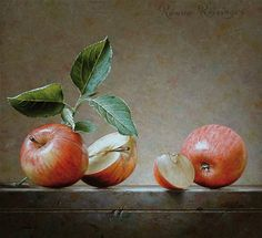 Roman Reisinger - Still life with apples