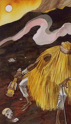 Afro-Brazilian Tarot - The Hermit