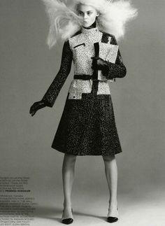 Viktoriya Sasonkina for Vogue Russia August 2013 by Chad Pitman | The Fashionography