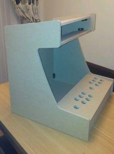 BARTOP ARCADE MACHINE 2 PLAYER DIY FLAT PACK KIT HYPERSPIN/MAME 60 IN 1 JAMMA
