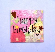 Win Free $100 eBay Gift Card  Bright pink birthday card by intralove on Etsy