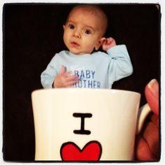 baby mugging i love