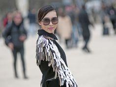 Paris Fashion Week Street Style F/W 2012, Day 4