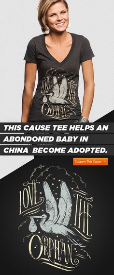 Great t-shirts for great causes. Save a child here ---> http://svnly.org/PinLink