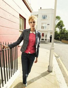 Boden British Tweed Blazer