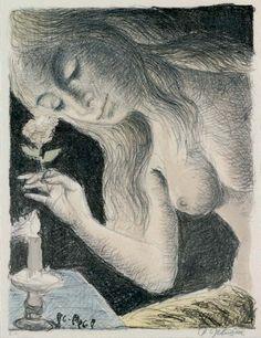 Paul Delvaux: La Sirène.