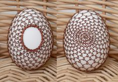 Wire Ornaments, Viking Knit, Wire Crochet, Egg Art, Wire Crafts, Food Crafts, Egg Decorating, Wire Art, Wire Jewelry