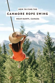 How to Find the Canmore Rope Swing near Banff, Canada — ckanani luxury travel & adventure Parc National, Banff National Park, National Parks, Jasper National Park, Quebec, Vancouver, Calgary, Montreal, Ontario