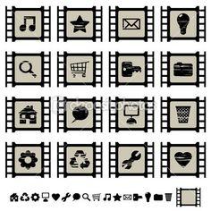 9 Filmmaker Website Inspiration Ideas Website Inspiration Stock Illustration Inspiration