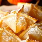 Baked Peach Wontons | Deliciously Yum!