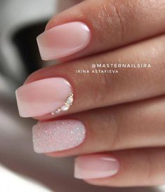 Shop for nail polish and nail care products. Indulge in the latest nail trends from summit brands considering OPI, Essie, Butter London and more. * Check out this great product. (This is an affiliate link) Fun Nails, Pretty Nails, Acrylic Nails Natural, Bridal Nails Designs, Bridal Nail Art, Long Square Nails, Light Pink Nails, Soft Pink Nails, Nail Pink