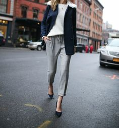 marks-and-spencer-double-breasted-navy-pea-coat-plaid-pants-chunky-knit-work-wear-fashion-blog-memorandum2