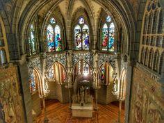 Palacio Episcopal de #Astorga en #Leon (#CastillaYLeon - #España). http://www.europeosviajeros.com