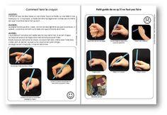 Comment tenir le crayon