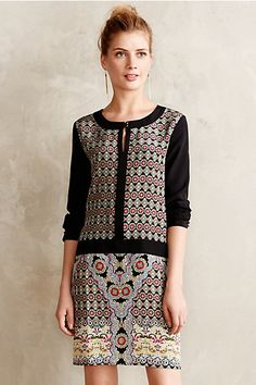 tile printed shift #anthrofave