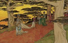 Bridal Procession - Elisabeth Sonrel