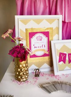 Hostess with the Mostess® - Royal Baby Shower - Pink & Gold