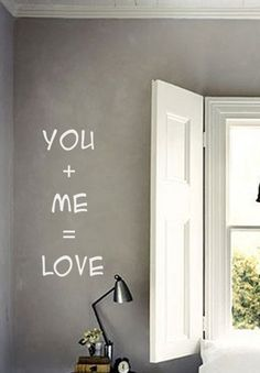 Love Vinyl Wall Decals Quote Wall Decal Valentine's by FabDecals,