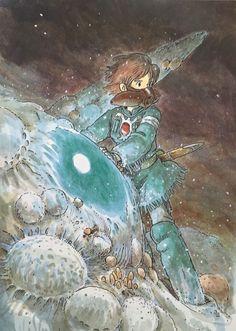 Nausicaä of the Valley of the Wind Volume 5    Art by: Hayao Miyazaki