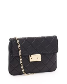MICHAEL Michael Kors  Sloan Quilted Clutch.