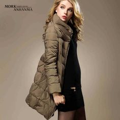 >> Click to Buy << 2015 Winter Thicken Warm Woman Down jacket Coat Parkas Outerwear Luxury 90% White Duck Mid Long Plus Size 2XXL Collar #Affiliate