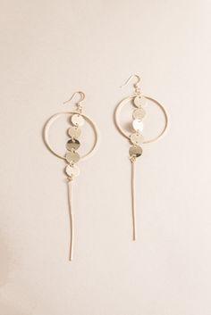 Camille Dangle Earrings