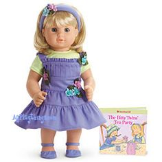 New American Girl Bitty Baby Twin Flowers /& Feathers Outfit NoDoll~Free Shipping