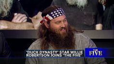 Duck Dynasty's Willie Robertson Talks About His Political Future on The Five Willie Robertson, Robertson Family, Duck Dynasty Cast, Reliable News Sources, Duck Commander, Country Music Videos, God First, Beards, Ducks