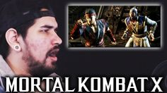 Mortal Kombat X - Official Shaolin Trailer REACTION!!!