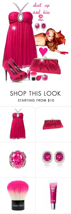 """Shut Up and Kiss Me"" by blondemommy ❤ liked on Polyvore featuring DUO, Nordstrom, LE VIAN, Medusa's Makeup, Victoria's Secret and Fabulicious"