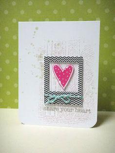 Cute and simple handmade card