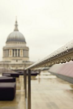 Rain on St. Paul's | Iva O'Hara on Flickr, April 2012