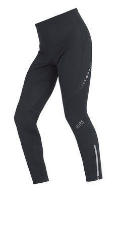 Gore Running Wear Men's Challenger Wind Stopper Tights, (running, winter running gear, compression, compression tight, running performance, cold gear, waterproof, men, pants, runningpants)