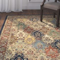 You'll love the Balthrop Multi/Red Area Rug at Wayfair - Great Deals on all Rugs  products with Free Shipping on most stuff, even the big stuff.