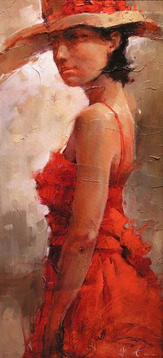 Andre Kohn 1972 ~ Russian-born Figurative Impressionist painter