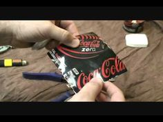 Reuse and re-purpose 07 - aluminum cans, life after soda