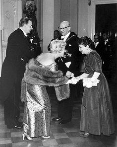 1960. Ansa Ikonen ja Jalmari Rinne.