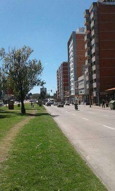 Avenida Italia. Montevideo, Uruguay.
