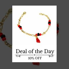 "Today Only! 10% OFF this item.  Follow us on Pinterest to be the first to see our exciting Daily Deals. Today's Product: Christmas Personalized Gift Azabache bracelet for adult 7.5"" /Pulsera de azabache para adulto 7.5"" Buy now: https://www.etsy.com/listing/481378965?utm_source=Pinterest&utm_medium=Orangetwig_Marketing&utm_campaign=Christmas%20Personalized%20Gift   #etsy #etsyseller #etsyshop #etsylove #etsyfinds #etsygifts #musthave #loveit #instacool #shop #shopping #onlineshopping…"