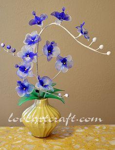 Nylon Stocking Flowers   Isabella Arte ShopIsabella Art Shop