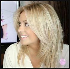 21+ Cute Medium Length Haircuts for Women | Stufenschnitt, Frisur ... | Einfache Frisuren