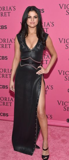 Selena Gomez Has the Sexiest VS Look You Won't See on the Runway