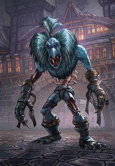 Illustration de Matt Gaser World of Warcraft ghoul