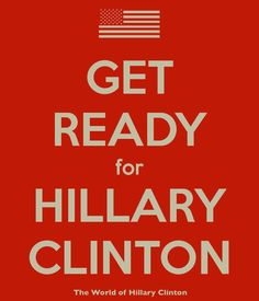Hillary 2016--I've been ready since 2008