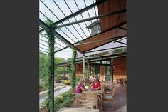 Trammell Crow Visitor Education Pavilion - Lake|Flato Architects