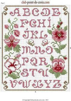 Cross Stitch Letters, Cross Stitch Boards, Cross Stitch Bookmarks, Cross Stitch Love, Cross Stitch Samplers, Cross Stitch Flowers, Cross Stitch Designs, Cross Stitching, Stitch Patterns