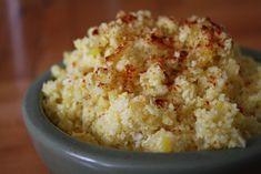 Cauliflower Rice...Indian Style. Looks Yummy!!!