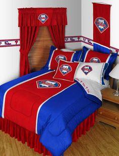 #oBedding - #Sports Coverage Philadelphia Phillies Pillowcase - MLB Baseball Pillow Cover - AdoreWe.com