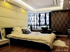 Master Bedroom Modern Design a cool assortment of master bedroom interior designs | bedroom